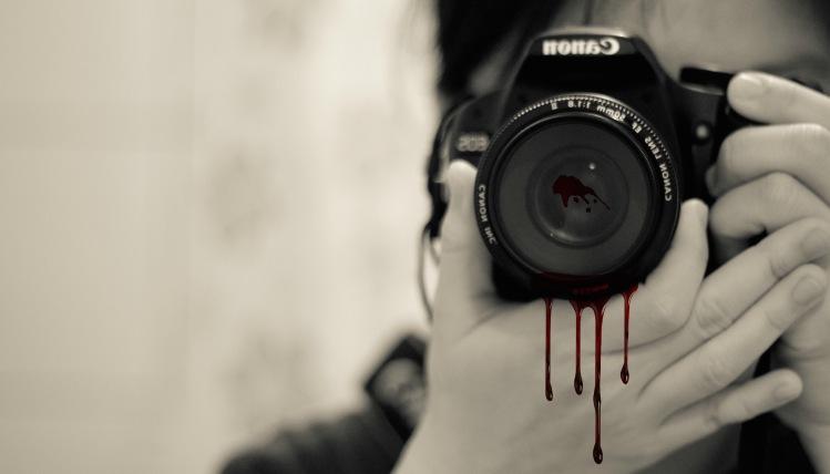 bleeding camera