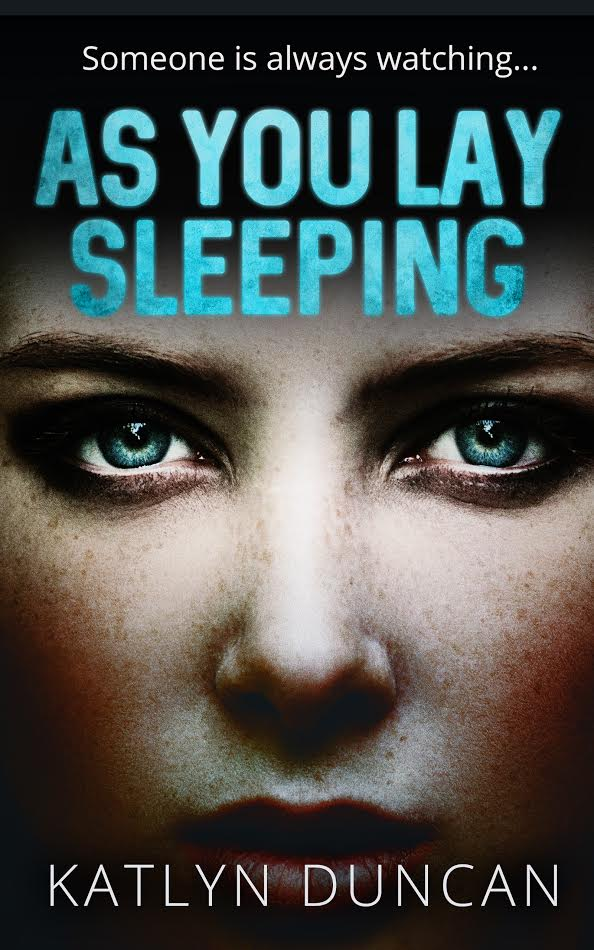 As You Lay Sleeping Novel Cover by Katlyn Duncan